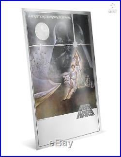 2018 Star Wars A New Hope Premium 35g Silver Foil FIRST RELEASE