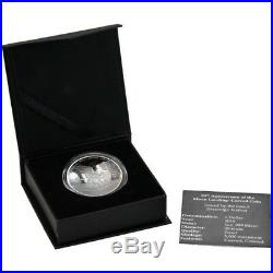 2019 1 Oz PROOF Silver APOLLO 11 50th ANNIV. OF THE MOON LANDING Curved Coin