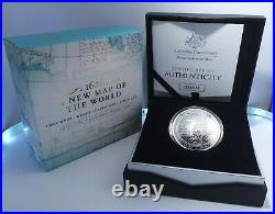 2019 $5 Silver Proof Domed Coin A New Map of the World Rare Collectable