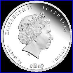 2019 Australia Lunar Year of the PIG Silver Proof 3-Coin Set 2oz 1oz 1/2oz