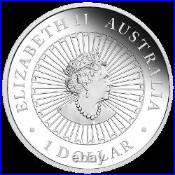 2019 Australia Opal Series Lunar Year of the PIG 1oz Silver Proof $1 Coin