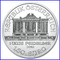 2019 Austria 1 oz Silver Philharmonic BU (Tube of 20) SKU#180674
