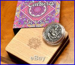 2019 Cameroon GANESHA World Cultures 2 oz Silver Coin Black Proof finish