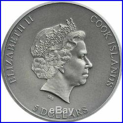 2019 Cook Islands 1oz 999Silver Coin TRAPPED 1st in Series, SOLD OUT