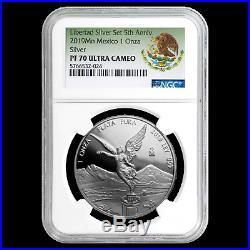 2019 Mexico 2-Coin Silver Libertad Set Proof/Reverse PF-70 NGC SKU#200450