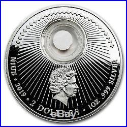 2019 Niue 1 oz Silver 50th Anniversary Moon Landing Liberty SKU#173175