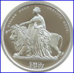 2019 Royal Mint Una and the Lion £5 Five Pound Silver Proof 2oz Coin Box Coa