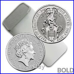 2019 Silver Britain Queen's Beasts (The Yale) 2 oz (10 Coins)