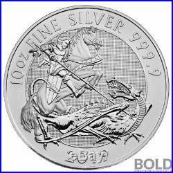 2019 Silver Great Britain Valiant 10 oz