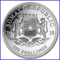 2019 Somalia 1 oz Silver Elephant (20-Coin MintDirect Tube) SKU#170430