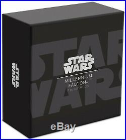 2019 Star Wars Millennium Falcon Ultra High Relief 2 oz Silver Coin