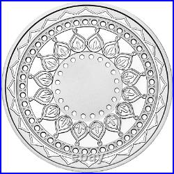 2019 Tuvalu Diwali Festival 1oz. 9999 Silver MEDALLION Previous-Issue-Sold-Out