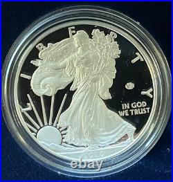 2020 American Silver Eagle V75 End Of World War II 75th Anniversary Privy Proof