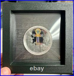 2020 Cameroon 1000 Francs Egyptian Ankh 1 oz Silver Proof Coin 999 Made