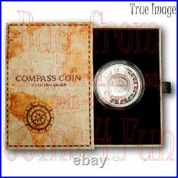 2020 Compass The Great Outdoors $5 2.5 OZ Pure Silver Coin Solomon Islands PAMP