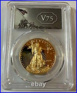 2020 End Of World War II V 75th Anniversary American Eagle Gold Silver Coin Pr70