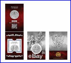 2020 Germania 1oz. 9999 Silver Coin 2020 World Money Fair Special