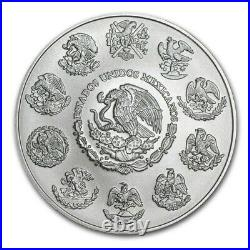 2020 Mexico Libertad 2 oz Silver LIMITED BU Capsuled Coin ONLY 5,500 MINTED