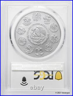 2020-Mo Mexico Onza Silver Libertad. 999 Silver 1oz Coin PCGS MS70 First Strike