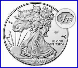 2020 W End of World War II 75th Anniversary American Eagle (Same Day Shipping)