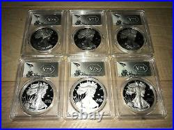 2020-W End of World War II 75th Anniversary American Silver Eagle v75 PCGS PR69