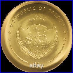 2021 Palau Inca Sun God Disc 1 oz. 999 Silver Coin 2,021 Made