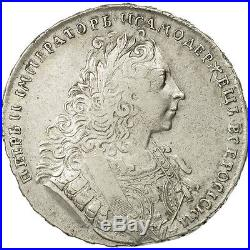 #471026 Russia, Peter II, Rouble, 1729, EF(40-45), Silver, KM182.3