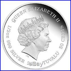 5-coin set 2016 Cubs Tiger Jaguar Snow Leopard White lion Lynx Silver 2.5 oz