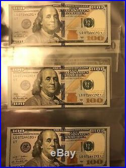$500 $100 $50 large certificate Gold silver red seal star note collection lot