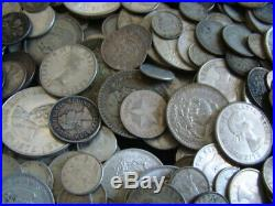 94 Troy Ounces ASW Actual Silver Weight Worldwide Coin Lot @ 90% Free Shipping