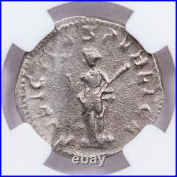 AD 247-249 Roman Empire Silver Double-Denarius of Philip II NGC VF SKU56210
