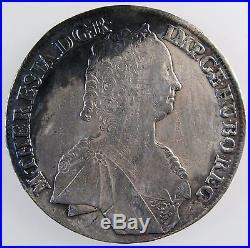 AUSTRIA. Thaler. 1757 Hall Mint. Maria Theresa (1717-1780) XF