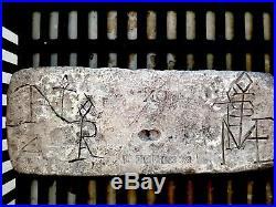 Atocha 1622 Silver Bar 82+lbs Ingot Mel Fisher Treasure Salvors Pirate Gold Coin