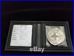 Atocha 8 Reales GRADE ONE Assayer B 1589-1615 POTOSI Philip III VERY RARE COIN