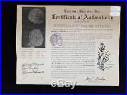 Atocha 8 Reales GRADE TWO Assayer M 1616-1617 POTOSI Philip III 22.00 Grams