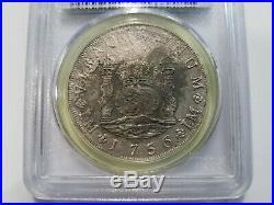 Auguste Shipwreck 1756 L JM PCGS 8 Reales Peru Treasure Silver Pieces of Eight