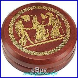 Australia 2015 Goddesses Of Olympus Hera 2oz Silver High Relief Coin Perth COA