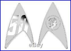 Australia 2016 Star Trek The Original Series 50th Ann. 1oz Silver Delta Coin