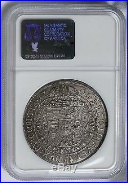 Austria 1704 Leopold Hogmouth Silver Thaler NGC MS62