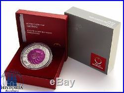 Austria 25 Euro 2012 Hgh Bionik silver niobium coin