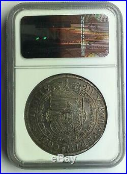 Austria Hall 1632 Leopold Silver Thaler NGC MS61
