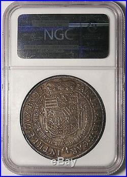 Austria St. Veit 1624 Ferdinand II Silver Thaler NGC AU53