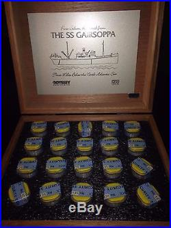 Best Price! 2013 NEW 15 coin sealed roll 1/4 Ounce Silver SS Gairsoppa