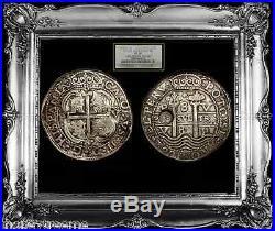 Bolivia 1682 Royal 8 Reales Ngc 30 King Charles II Rare Cob Potosi Silver Coin