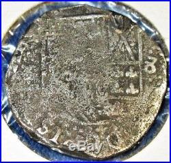 C. 1641 SHIPWRECK CONCEPCION Spanish Colonial SILVER 8 Reales Potosi