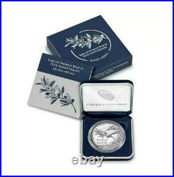 CONFIRMED ORDER End of World War II 75th Anniversary Silver Medal FREE SHIP
