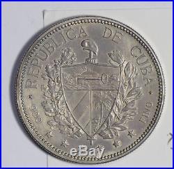 Caribbean 1897 Peso silver C0297 combine shipping