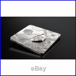Cook Islands 2017, 5$ Time Capsule, 1oz silver, square coin