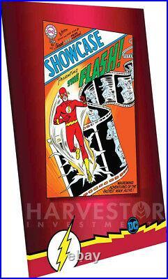 DC Comics Showcase #4 1st App Of Flash 35g Silver Foil Cgc 10 Gem Mint
