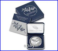 End Of World War ll 75th Anniversary Silver Medal PRE-SALEPRE-SALE